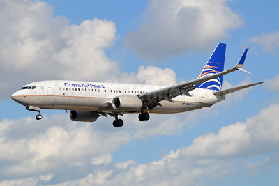 Copa Airlines Boeing 737-8V3 SSWL HP-1850CMP (msn 39967) MIA (Bruce Drum). Image: 105300.