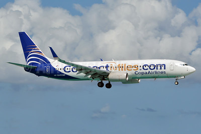 Copa Airlines Boeing 737-8V3 HP-1849CMP (msn 41449) (ConnectMiles.com) SXM (Jay Selman). Image: 403503.