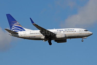 Copa Airlines Boeing 737-7V3 WL HP-1520CMP (msn 33707) MIA (Bruce Drum). Image: 101275.