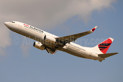 Air Albania Boeing 737-8F2 WL TC-JZG (msn 60028) BLQ (Marco Finelli). Image: 953459.