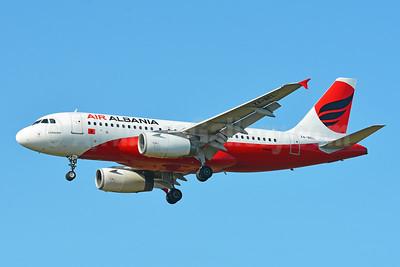 Air Albania Airbus A319-132 ZA-BEL (msn 3142) BSL (Paul Bannwarth). Image: 951982.