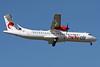 Belle Air (Albania) ATR 72-212A (ATR 72-500) F-WWEH (F-ORAA) (msn 879) TLS (Eurospot). Image: 903325.