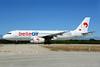 Belle Air (Albania) Airbus A320-233 F-ORAD (msn 558) AYT (Ton Jochems). Image: 920216.