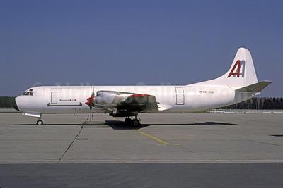 Amerer Air Lockheed 188A (F) Electra OE-ILA (msn 1145) NUE (Gunter Mayer). Image: 950765.
