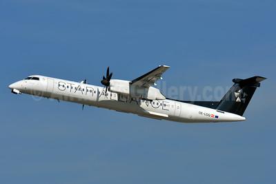 Austrian Airlines Bombardier DHC-8-402 (Q400) OE-LGQ (msn 4003) (Star Alliance) ZRH (Paul Bannwarth). Image: 939747.