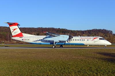 Austrian Airlines Bombardier DHC-8-402 (Q400) OE-LGN (msn 4326) ZRH (Rolf Wallner). Image: 925801.