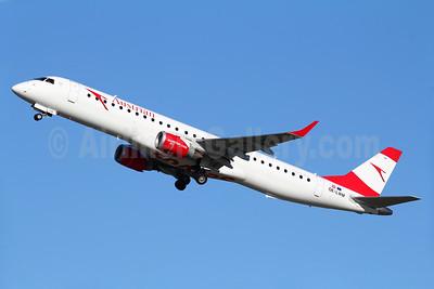 Austrian Airlines Embraer ERJ 190-200LR (ERJ 195) OE-LWM (msn 19000542) FRA (Marcelo F. De Biasi). Image: 939057.