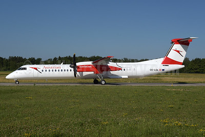 Austrian Airlines Bombardier DHC-8-402 (Q400) OE-LGL (msn 4310) ZRH (Rolf Wallner). Image: 938226.