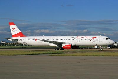 Austrian.com - my Austrian (Austrian Airlines) Airbus A321-111 OE-LBC (msn 581) LHR (SPA). Image: 934528.