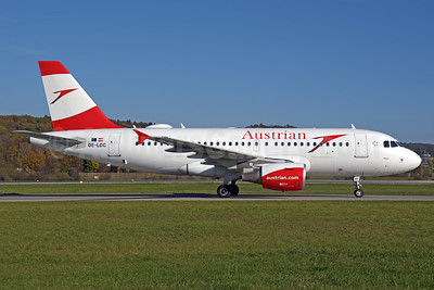 Austrian Airlines Airbus A319-112 OE-LDC (msn 2262) ZRH (Rolf Wallner). Image: 939766.