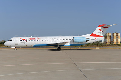 Austrian Airlines Fokker F.28 Mk. 0100 OE-LVJ (msn 11359) AYT (Ton Jochems). Image: 933115.
