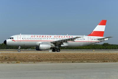 Austrian Airlines Airbus A320-214 OE-LBP (msn 797) (1958 retrojet) AYT (Ton Jochems). Image: 933116.