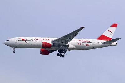 Austrian.com - my Austrian (Austrian Airlines) Boeing 777-2Z9 ER OE-LPD (msn 35960) (Servus Hong Kong) BKK (Michael B. Ing). Image: 939150.