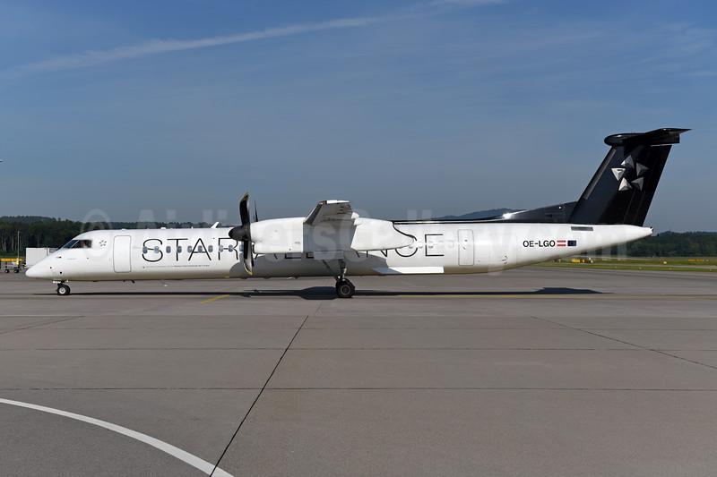 Austrian Airlines Bombardier DHC-8-402 (Q400) OE-LGO (msn 4281) (Star Alliance) ZRH (Ton Jochems). Image: 943134.