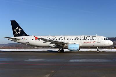 Austrian Airlines Airbus A320-214 OE-LBX (msn 1735) (Star Alliance) ZRH (Rolf Wallner). Image: 926328.