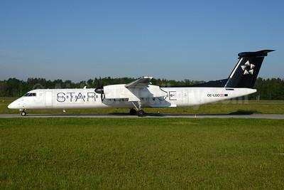 Austrian Airlines Bombardier DHC-8-402 (Q400) OE-LGO (msn 4281) (Star Alliance) ZRH (Rolf Wallner). Image: 933111.