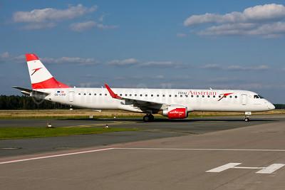 Austrian.com - my Austrian (Austrian Airlines) Embraer ERJ 190-200LR (ERJ 195) OE-LWD (msn 19000411) NUE (Gunter Mayer). Image: 954626.