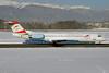 Austrian Arrows-Tyrolean Airways Fokker F.28 Mk. 0100 OE-LVB (msn 11502) GVA (Paul Denton). Image: 923436.