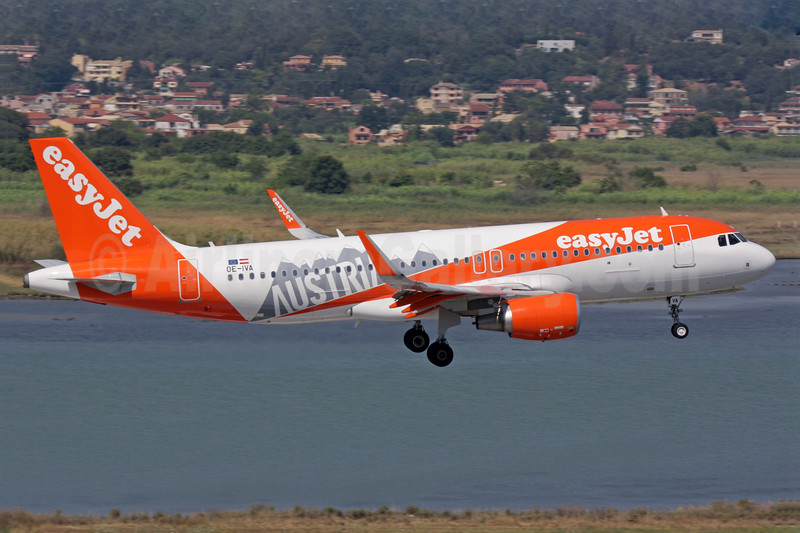 """easyJet Europe commences operations, the first aircraft is decorated in this """"Austria"""" special livery"""