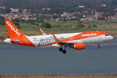 "easyJet Europe commences operations, the first aircraft is decorated in this ""Austria"" special livery"