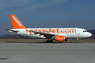 easyJet (Europe) (easyJet.com) Airbus A319-111 OE-LQI (msn 3411) ZRH (Rolf Wallner). Image: 941087.