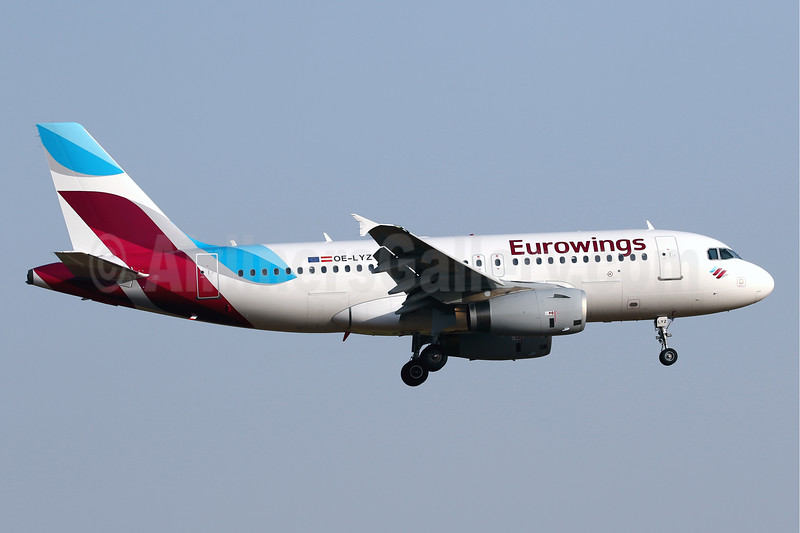 Eurowings (Europe) Airbus A319-132 OE-LYZ (msn 4227) PMI (Javier Rodriguez). Image: 939435.