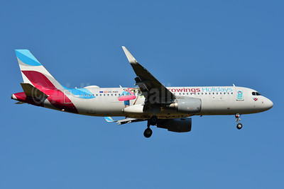 Eurowings (Europe) Airbus A320-214 WL OE-IQD (msn 7056) (Eurowings Holidays) BSL (Paul Bannwarth). Image: 943734.