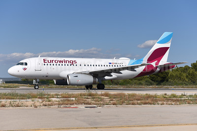 Eurowings (Europe) Airbus A319-132 OE-LYY (msn 4256) PMI (Ton Jochems). Image: 943733.