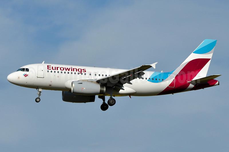 Eurowings (Europe) Airbus A319-132 OE-LYZ (msn 4227) VIE (Tony Storck). Image: 939133.