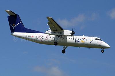 InterSky Bombardier DHC-8-311 OE-LSB (msn 525) (Pink) ZRH (Paul Denton). Image: 909044.