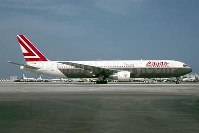 Lauda Air Boeing 767-31A ER OE-LAS (msn 27909) MIA (Bruce Drum). Image: 105616.