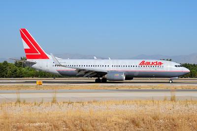 Lauda Air Boeing 737-8Z9 WL OE-LNK (msn 28178) AYT (Ton Jochems). Image: 955257.