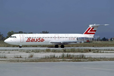 Lauda Air BAC 1-11 525FT OE-ILD (msn 256) ATH (Richard Vandervord). Image: 949074.