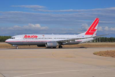 Lauda Air Boeing 737-8Z9 WL OE-LNS (msn 34262) AYT (Ton Jochems). Image: 903701.