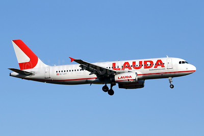 Lauda - laudamotion.com Airbus A320-232 OE-LOY (msn 2161) PMI (Javier Rodriguez). Image: 950933.