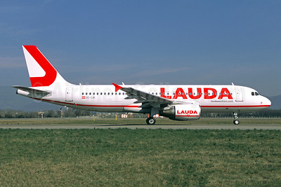 Lauda - laudamotion.com Airbus A320-214 OE-LMI (msn 5081) BLQ (Jacques Guillem Collection). Image: 950697.