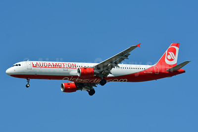 Laudamotion Airbus A321-211 OE-LCG (msn 1988) (Airberlin colors) BSL (Paul Bannwarth). Image: 942580.