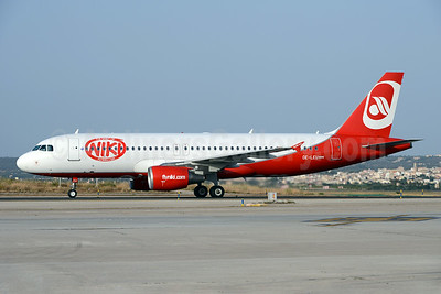 Niki-The Spirit of Niki (flyniki.com) Airbus A320-214 OE-LEU (msn 2902) (Airberlin colors) PMI (Ton Jochems). Image: 923618.