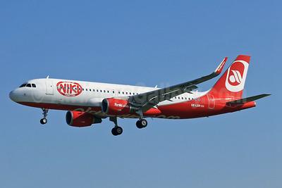 Niki-Airberlin (airberlin.com) Airbus A320-214 WL OE-LER (msn 5522) (Sharklets) BCN (Eurospot). Image: 913232.