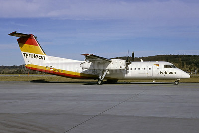 Tyrolean Airways de Havilland Canada DHC-8-311 Dash 8 OE-LTM (msn 527) ZRH (Richard Vandervord). Image: 946656.