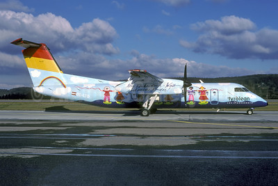 """1995 """"SOS Kinderdorf"""" (kid's art) special livery"""