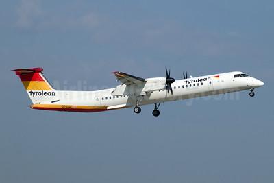 Tyrolean Airways - Austrian Airlines Group Bombardier DHC-8-402 (Q400) OE-LGF (msn 4068) STR (Jay Selman). Image: 404093.