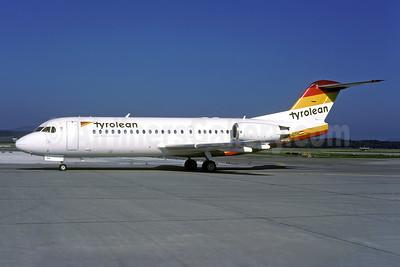 Tyrolean Austrian Regional (Tyrolean Airways) Fokker F.28 Mk. 0070 OE-LFH (msn 11554) ZRH (Rolf Wallner). Image: 954006.