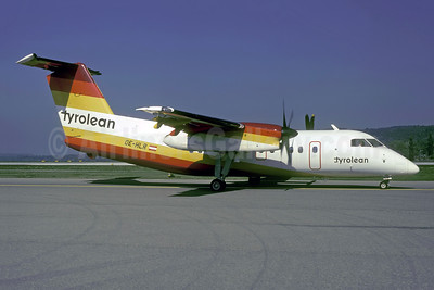 Tyrolean Airways de Havilland Canada DHC-8-102 Dash 8 OE-HLR (msn 10) ZRH (Rolf Wallner). Image: 953990.