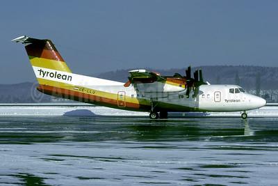 Tyrolean Airways de Havilland Canada DHC-7-102 Dash 7 OE-LLU (msn 113) ZRH (Rolf Wallner). Image: 953984.