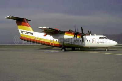 Tyrolean Airways de Havilland Canada DHC-7-102 Dash 7 OE-HLT (msn 50) ZRH (Rolf Wallner). Image: 953982.