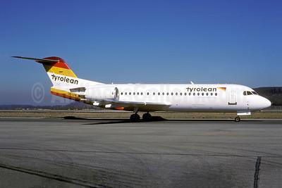 Tyrolean Austrian Regional (Tyrolean Airways) Fokker F.28 Mk. 0070 OE-LFK (msn 11555) ZRH (Rolf Wallner). Image: 954007.