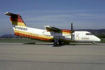 Tyrolean Austrian Regional (Tyrolean Airways) de Havilland Canada DHC-8-106 Dash 8 OE-LLE (msn 355) ZRH (Rolf Wallner). Image: 953989.
