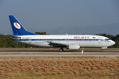 Belavia Belarusian Airlines Boeing 737-31S EW-366PA (msn 29058) AYT (Ton Jochems). Image: 939768.