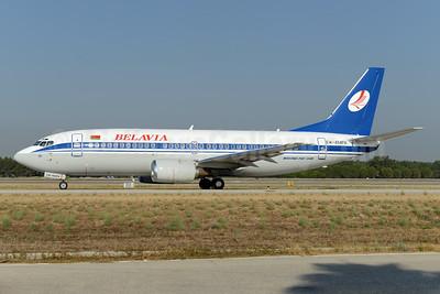 Belavia Belarusian Airlines Boeing 737-3L9 EW-404PA (msn 27061) AYT (Ton Jochems). Image: 924557.